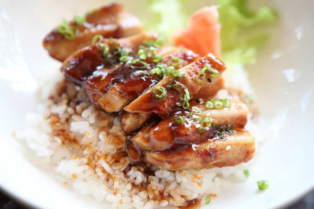 Grilled Chicken teriyaki