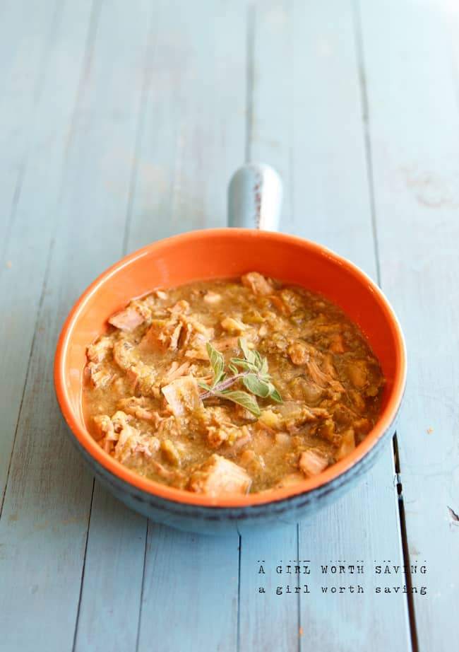 Slow Cooker Chili Verde (Whole30, Keto)
