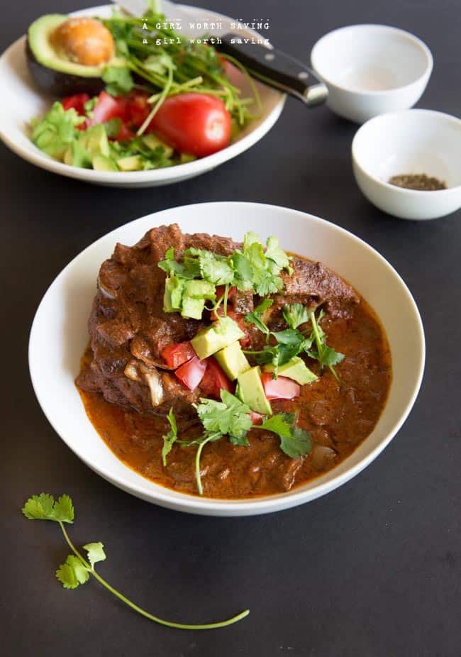 chocolate chicken mole
