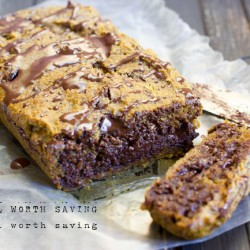 Gooey Chocolate Chip Pumpkin Bread Paleo Vegan