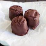 chocolate covered cherries paleo vegan