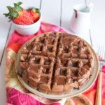 Paleo chocolate Waffles