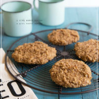 Coconut Banana Cookies + Low FODMAP Menus for IBS Cookbook