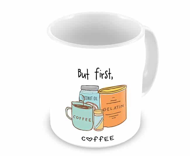 coffee with gelatin