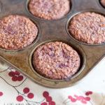 gluten-free cranberry muffins