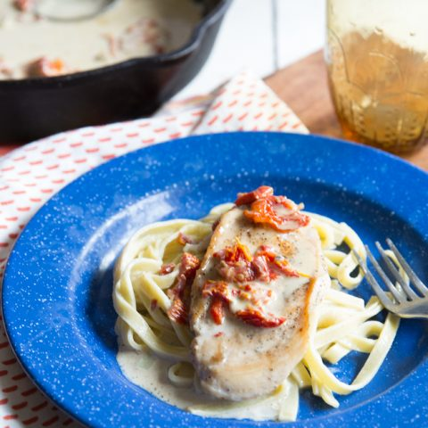 Creamy Chicken with Sun Dried Tomatoes