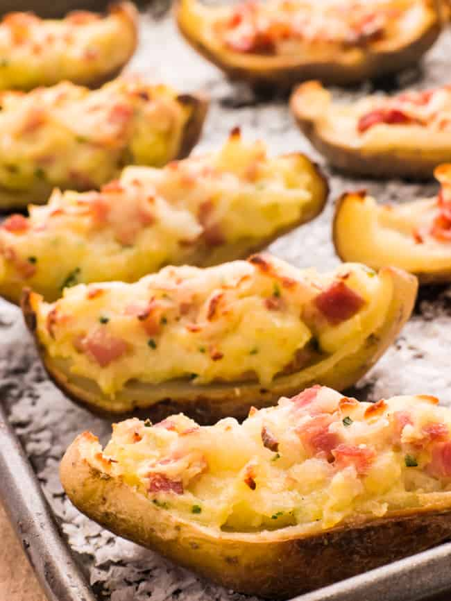 Crsipy Potato SKins