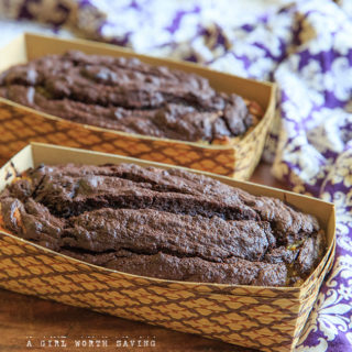 Dark Chocolate Banana Bread and  Fair Trade Awareness Month