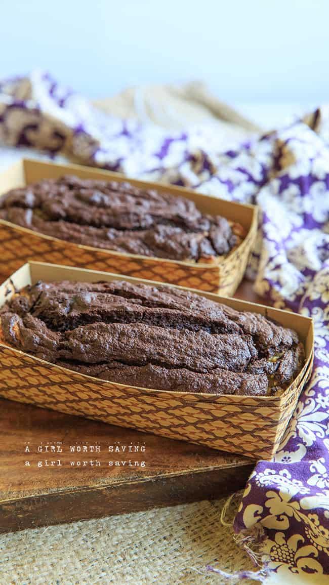 dark chocolate banana bread-9465