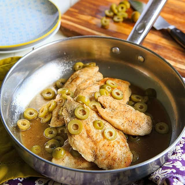 easy olive chicken