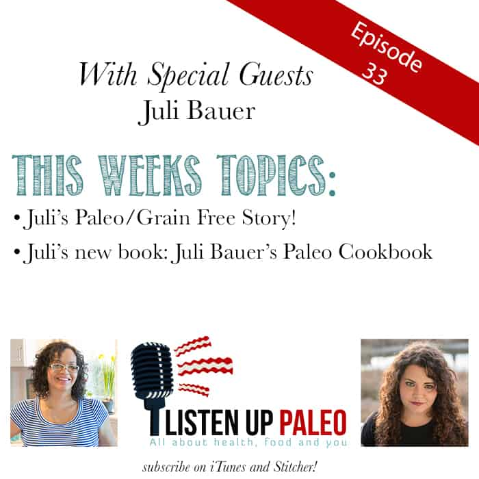listen up paleo podcast juli bauer