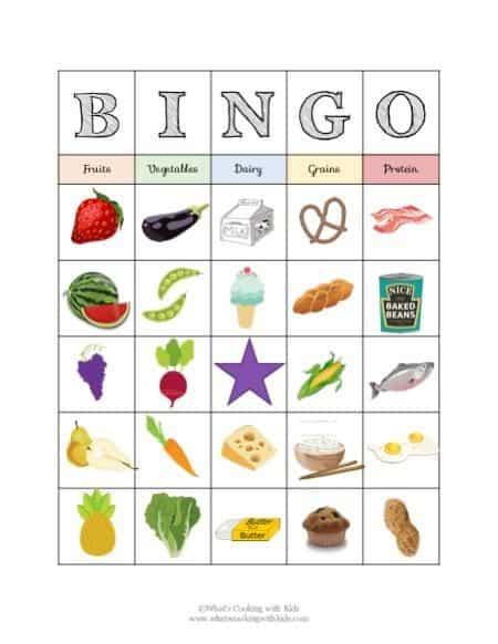 food-bingo