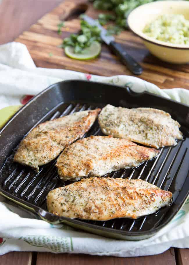 garlic lime chicken