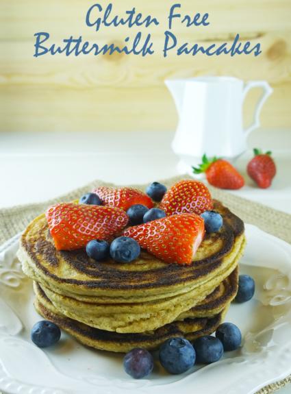 Gluten Free Buttermilk Pancakes