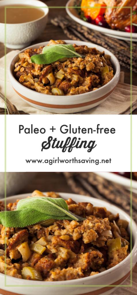gluten free paleo thanksgiving stuffing