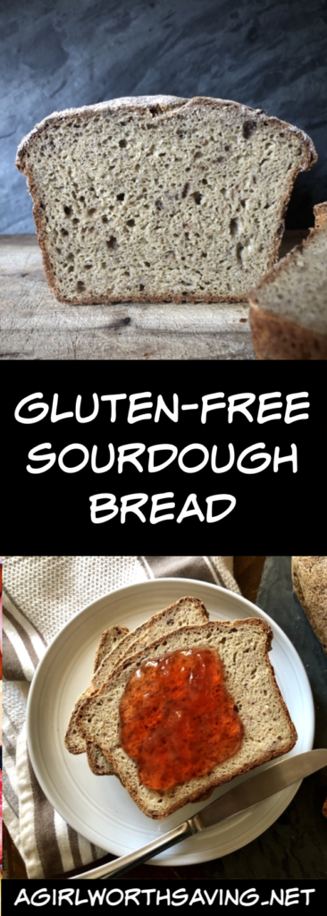 Making high-quality gluten-free sourdough bread at home has become more common. Here's a simple recipe that you can make  for very little cost!
