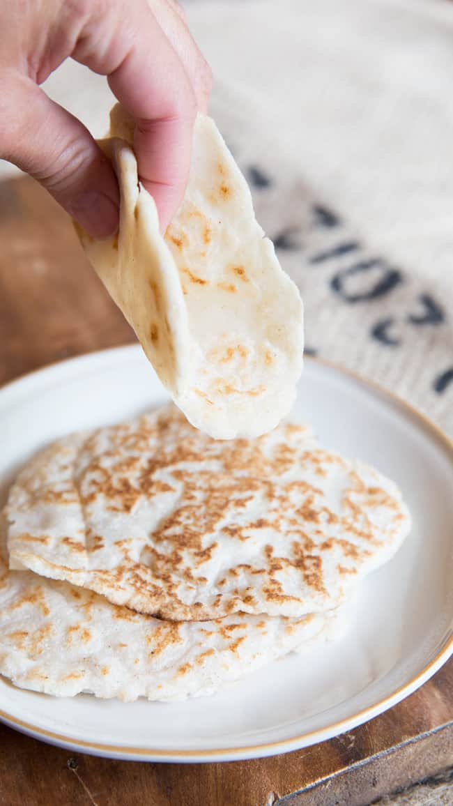 Gluten-free Homemade Tortillas - Paleo Recipes, Gluten-free Recipes ...
