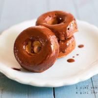 Chocolate Covered Cake Doughnut Recipe -Paleo, Gluten-Free
