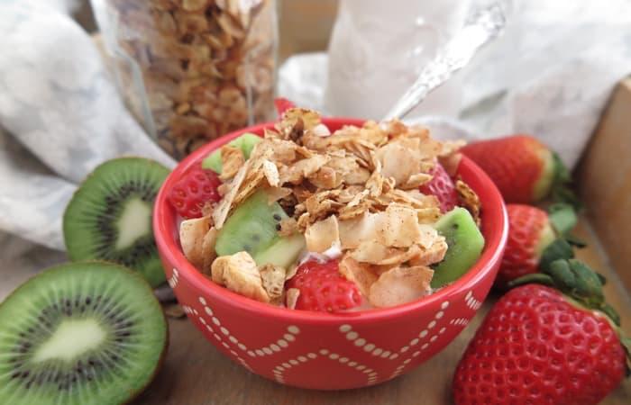 Vanilla Cinnamon Breakfast Granola (Paleo, AIP, Sugar Free) - Giveaway
