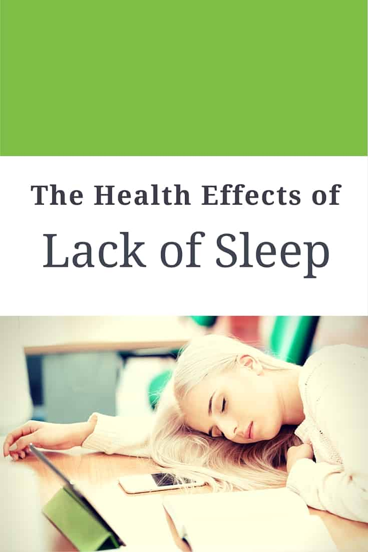 health effects of lack of sleep
