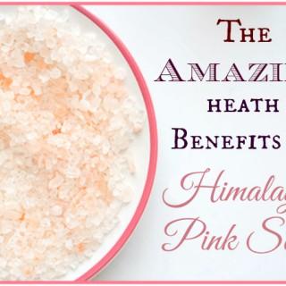 health benefits of Himalayan sea salt