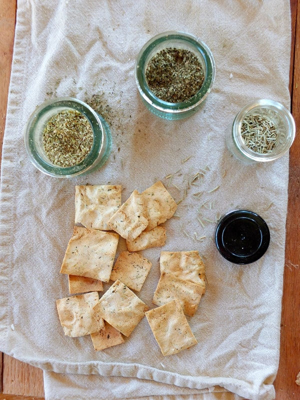 Paleo Herb Crackers | A Girl Worth Saving