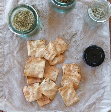 Paleo Herb Crackers | A Girl Worth Saving