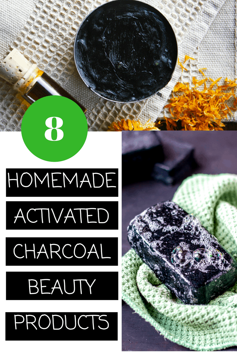 10 Homemade Beauty Products using Activated Charcoal