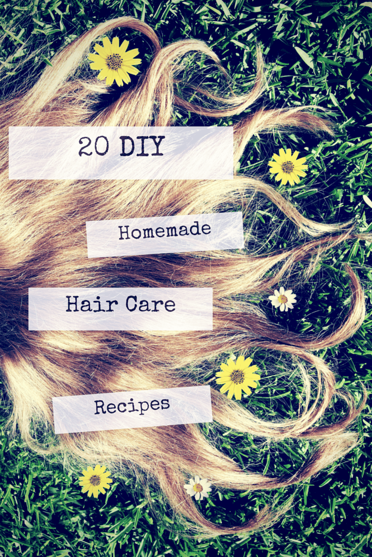homemade hair care recipes