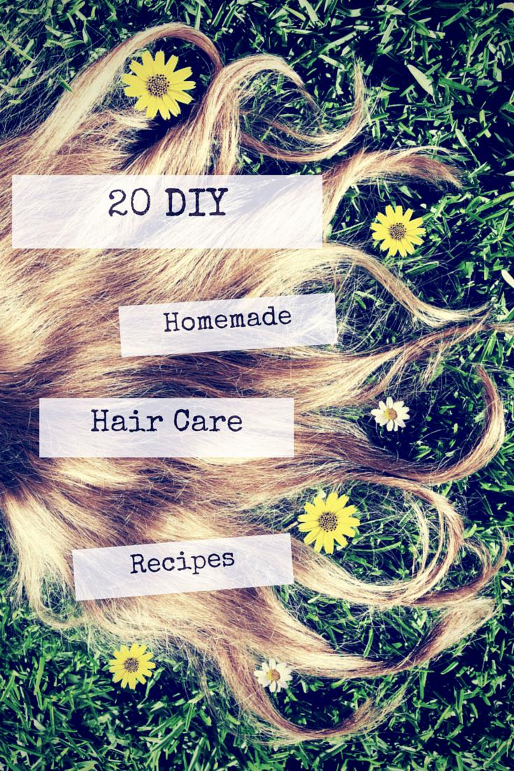 homemade hair care recipes
