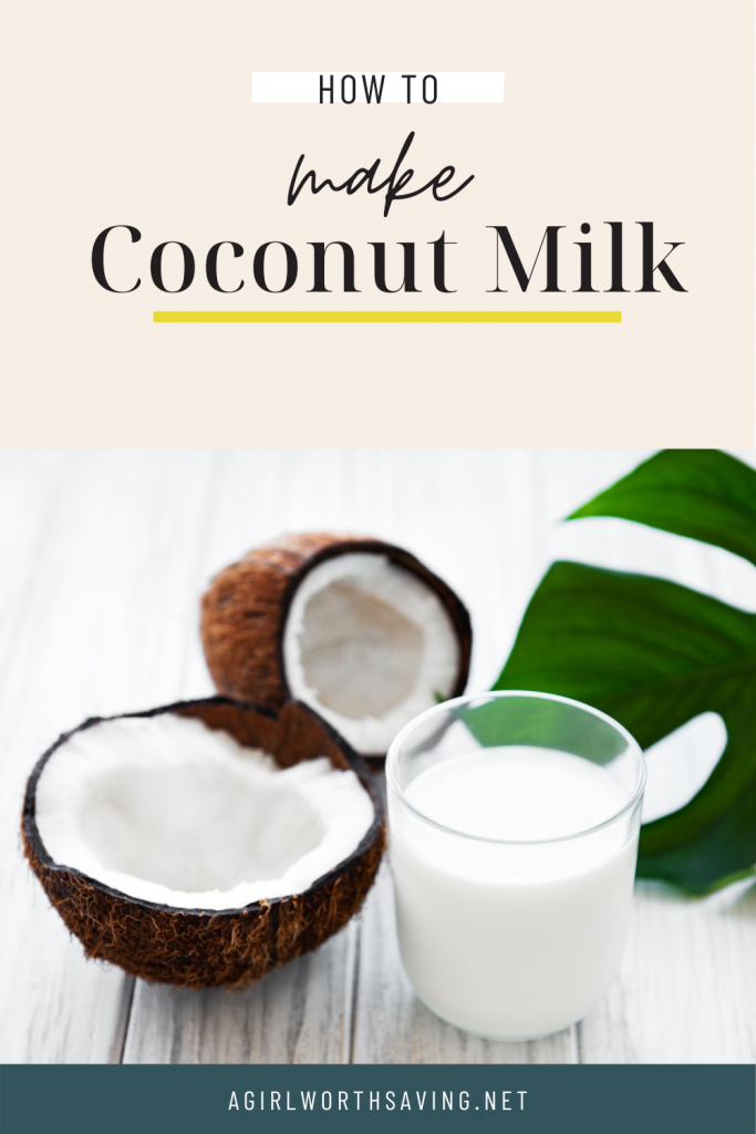 It's super easy to make your own coconut milk and it will save you loads of money too! This photo tutorial of how to make coconut milk will walk you through each step.