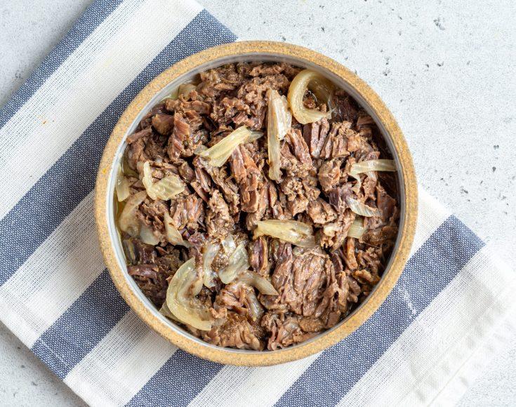 Instant Pot Shredded Beef