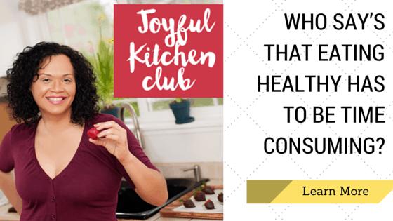 joyful kitchen banner