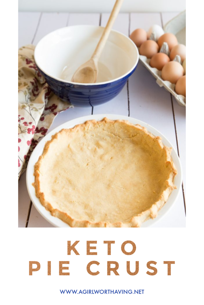 This Keto pie crust is made with almond flour and less than 5 ingredients! Now one will know that it only has 3 carbs per serving as it is flaky and sturdy enough for any filling.
