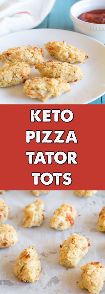 keto pizza tator tots