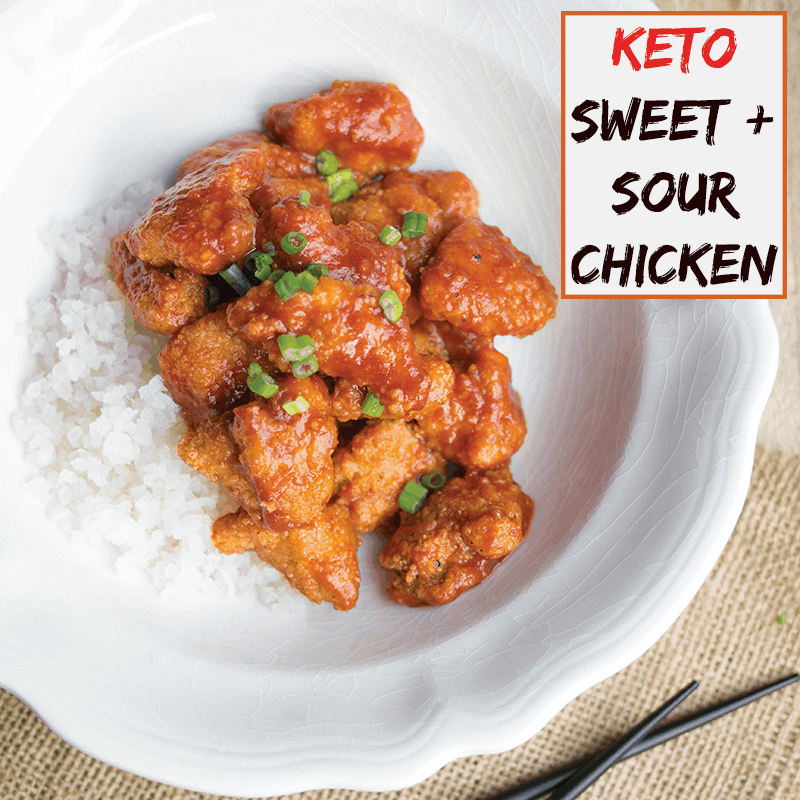 Keto Sweet And Sour Chicken A Girl Worth Saving