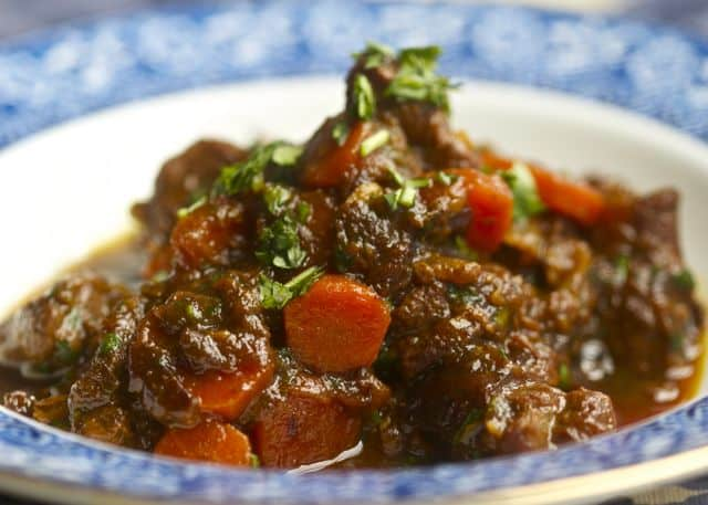 The Hunger Games Lamb Stew with Dried Plums