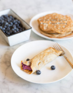 low carb crepes breakfast
