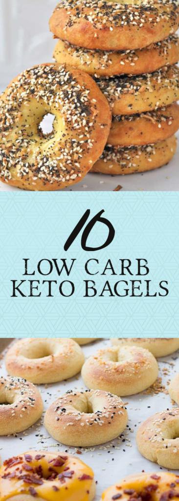 low carb keto bagels