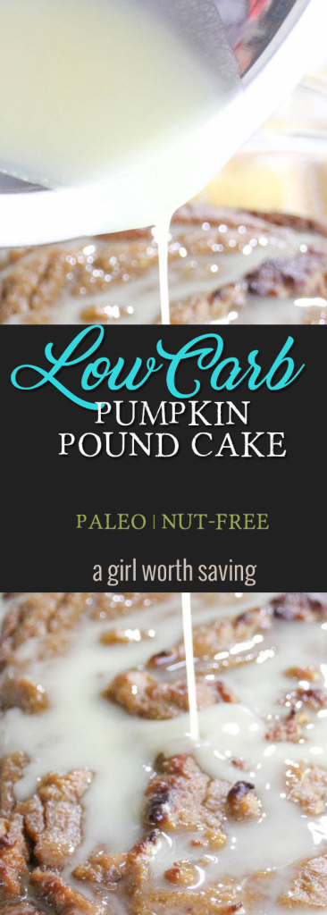 Now that I'm embracing the low carb, Keto lifestyle, I'm back to figuring out recipes, ok, sweets that will work on the diet. Thankfully most of my cravings for sugary things has waned considerably but, come on, my sweet tooth is still like, you know you need cake every now and then all I could think about was Pumpkin Pound Cake.