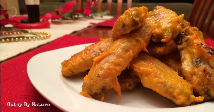 Chili Spiced Mango Paleo Chicken Wings