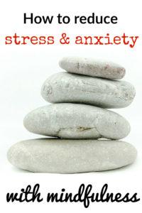 Zen stones for mindfulness