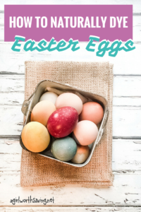 naturally dyes easter eggs