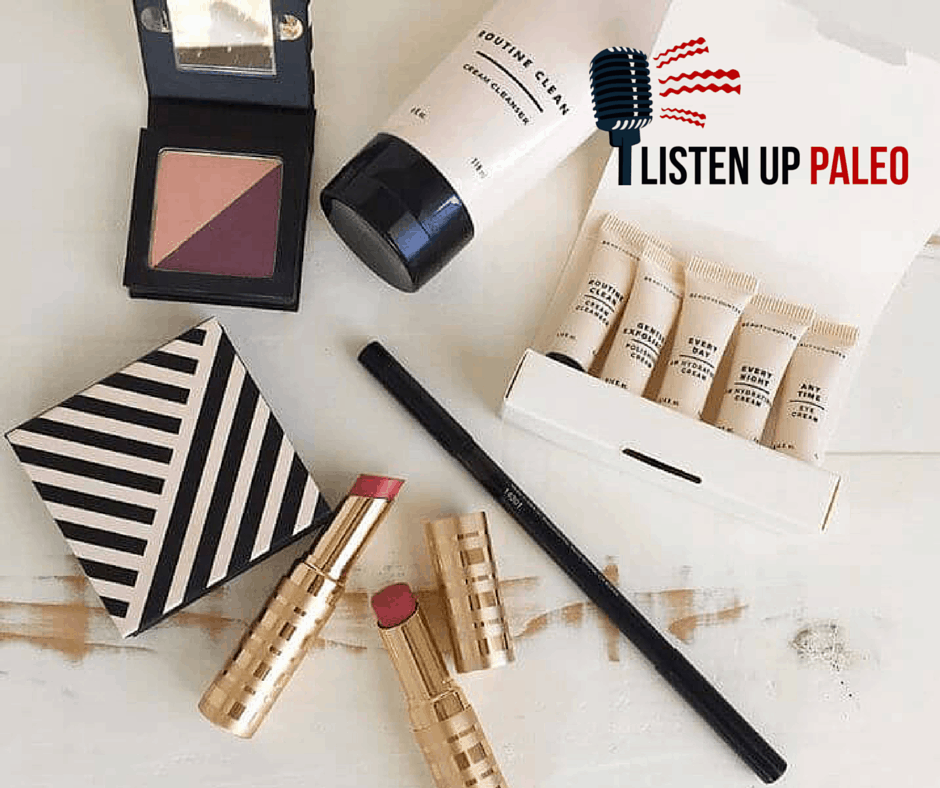 non toxic beauty products on listen up paleo podcast