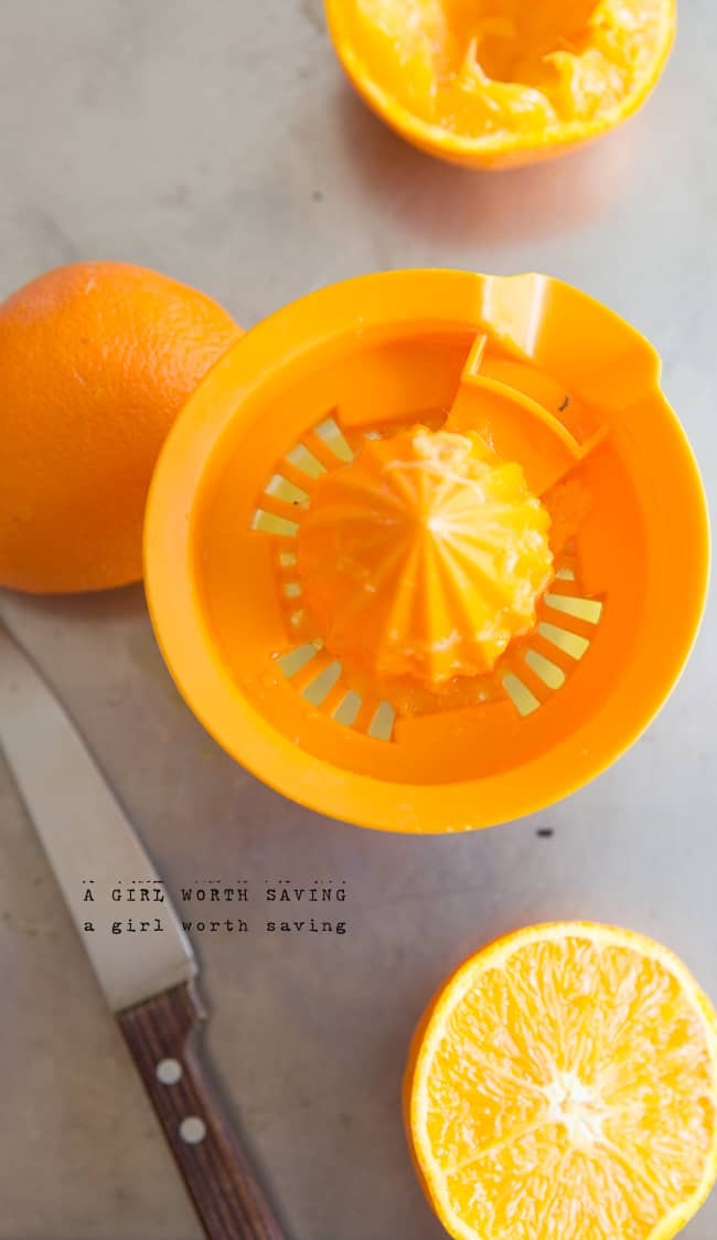 paleo orange scones