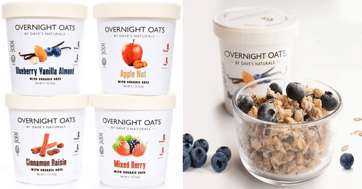 Dave's Natural Overnight Oats Giveaway