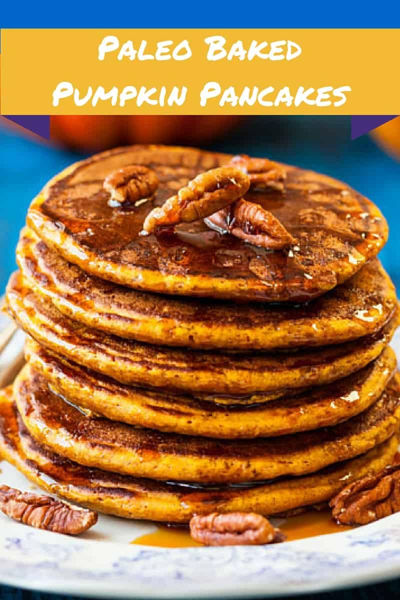 paleo baked pumpkin pancakes (1)