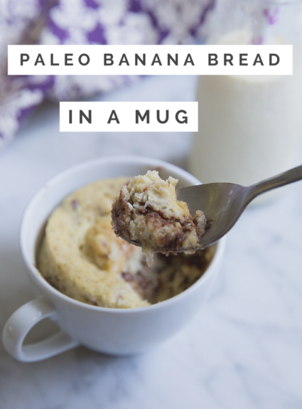 Chocolate Chip Banana Mug Bread