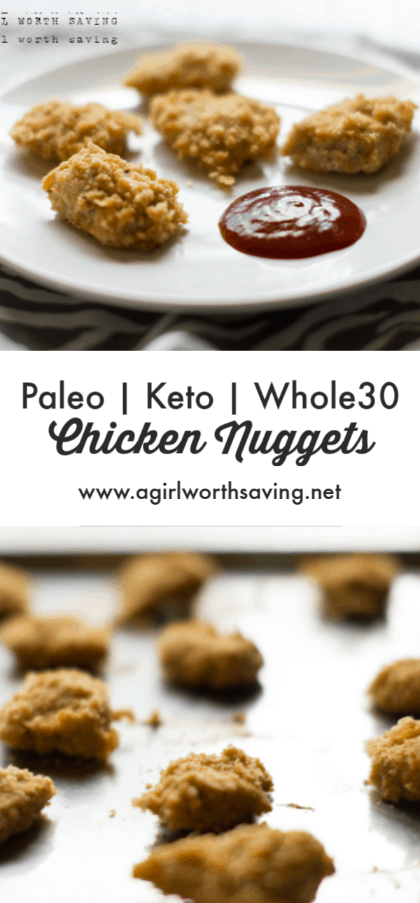 Breaded with pork rinds, theseketo chicken nuggetsare then baked in your oven until crispy! Dip them in a sweet and sour sauce for an extra special keto lunch.