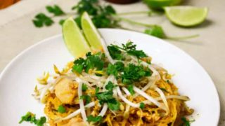 Paleo Chicken Pad Thai – Inspired by Mariano's Tastemakers (Chicago Grocery Store)